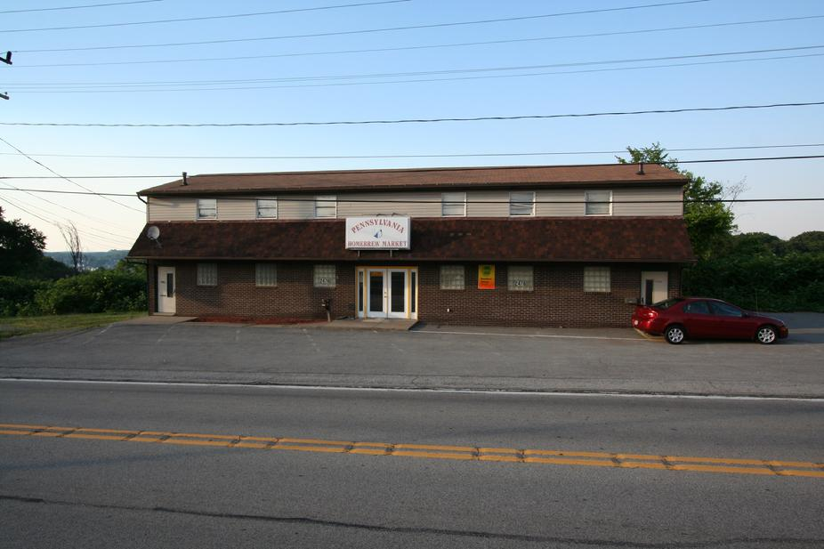 RETAIL / OFFICE BUILDING WITH APARTMENTS ABOVE FOR SALE / RENT PITTSBURGH PA