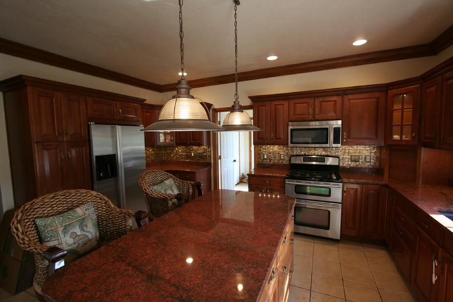 GRANITE COUNTERS WITH STAINLESS STEEL APPLIANCES MURRYSVILLE PA